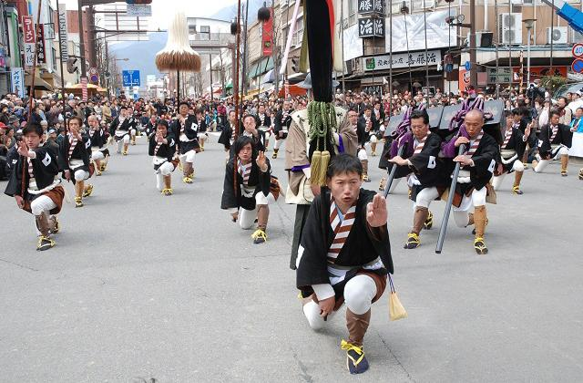 Minami-Shinshu Iida Oneri Festival