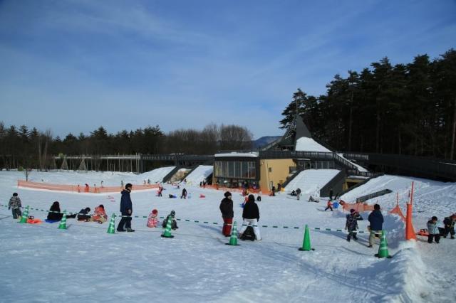国営アルプスあづみの公園 冬の公園で遊ぼう!