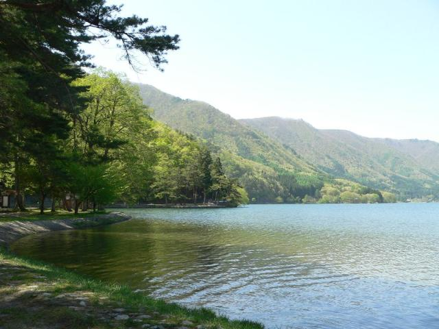 木崎湖(木崎湖モダンボート)