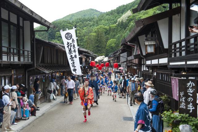 【2020年度中止】木曽漆器祭・奈良井宿場祭