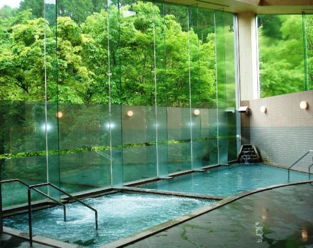 南相木温泉 「滝見の湯」