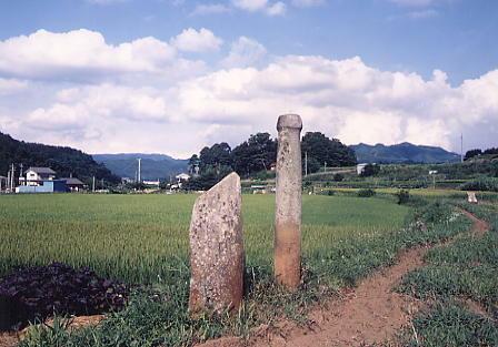 北沢川大石棒