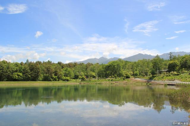 maruyachi湖和八岳