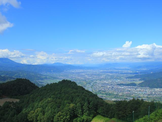 三峯山展望台