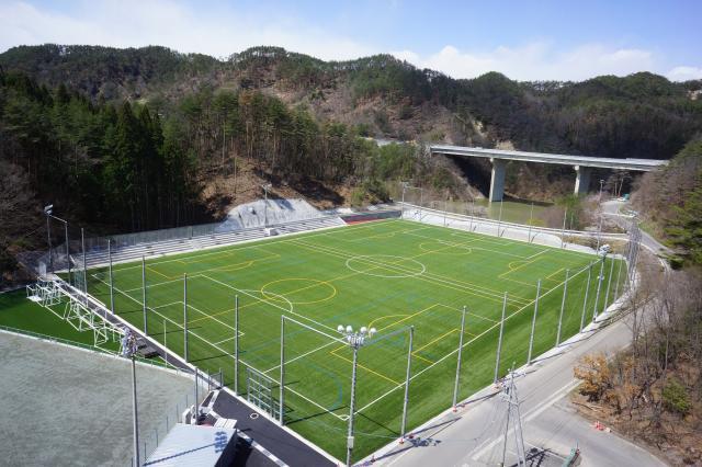 筑北村サッカー場