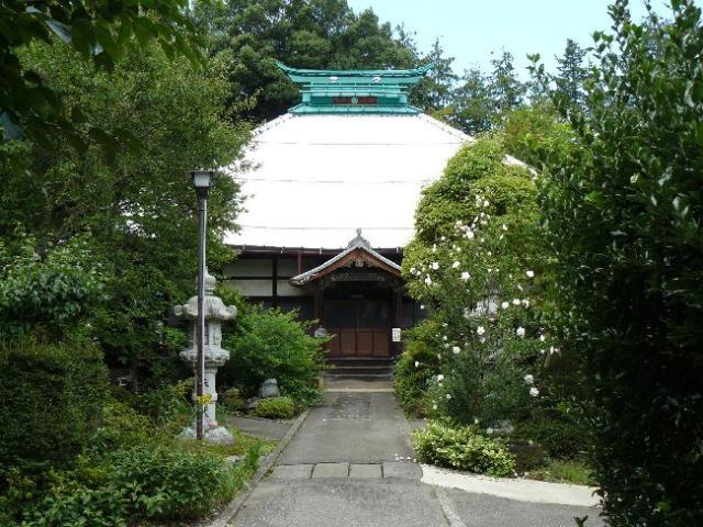 祥雲寺(上高井郡小布施町)