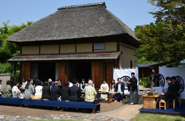 歴史公園 信州高山 一茶ゆかりの里 一茶館