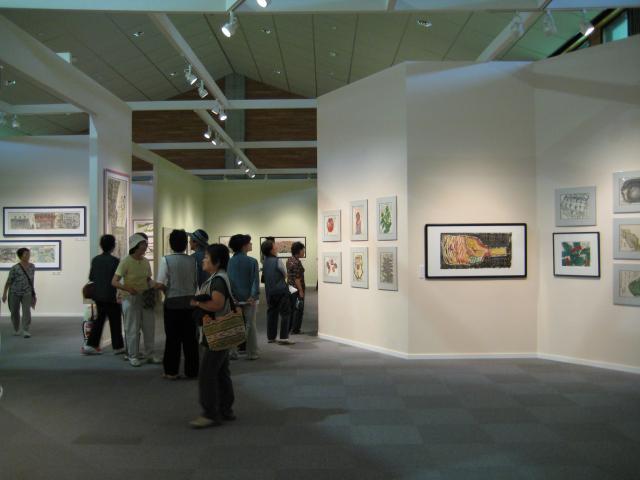 栄村 白い森の美術館