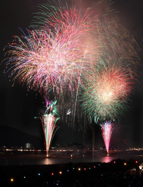National Selection Nagara River Chunichi Fireworks Festival