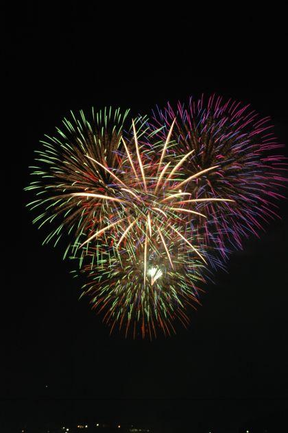 中津川夏祭り「おいでん祭」 納涼花火大会