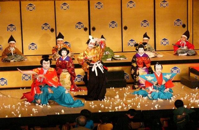 常盤座歌舞伎保存会公演