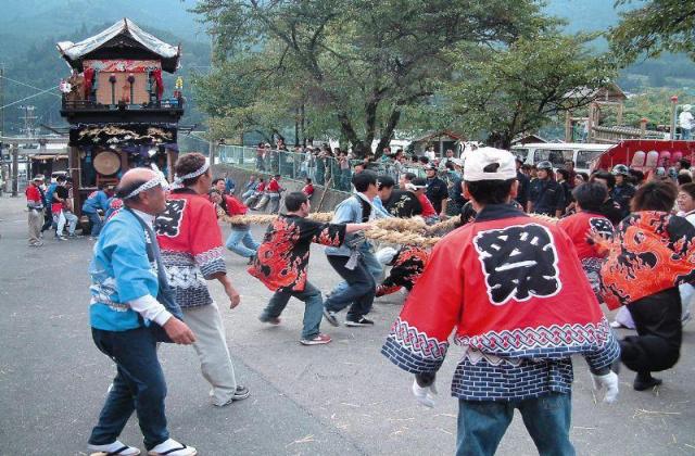 加子母祭り(水無神社例祭)