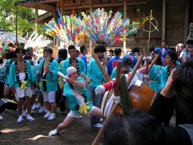 中山神社大祭