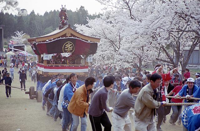 下米田諏訪神社春の大祭