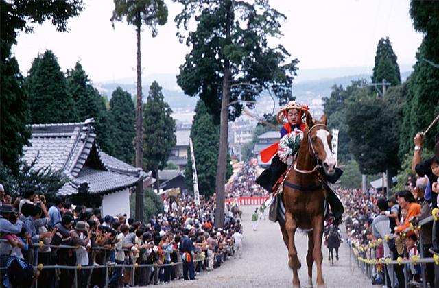 八幡神社例祭/流鏑馬