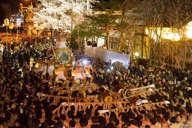 飛騨古川祭「起し太鼓」