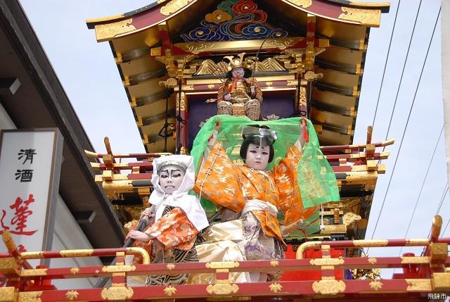 飛騨古川祭「子供歌舞伎」
