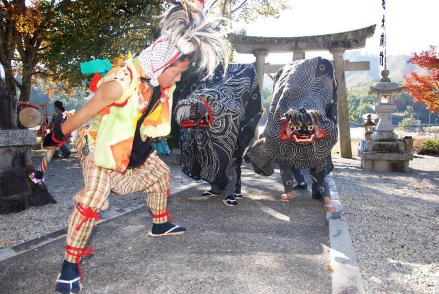森茂白山神社例祭