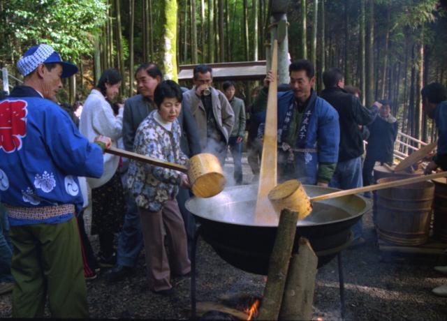 千虎白山神社甘酒祭り