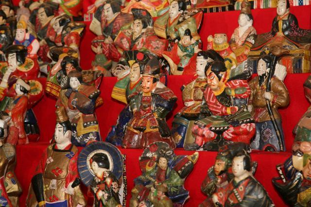 The Clay Hina Doll's Festival