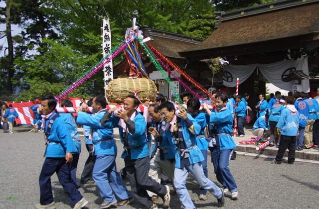 治水神社春季大祭