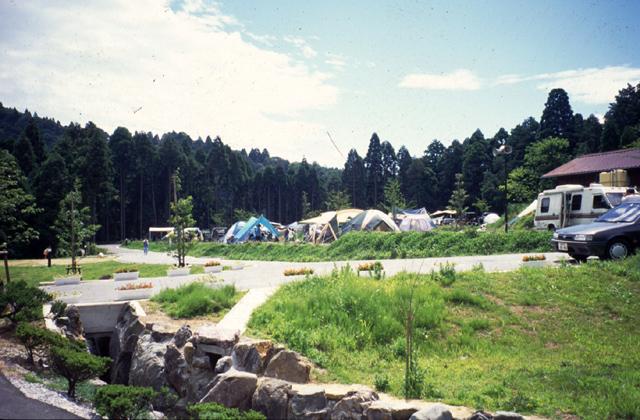 自動露營地綠色·木材關原