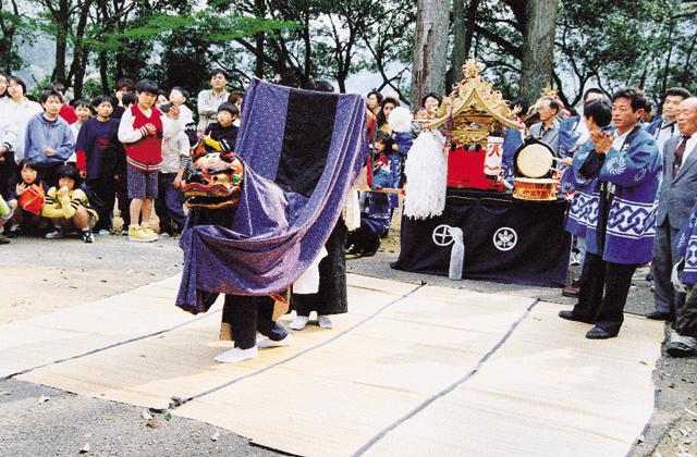 水無神社の例大祭