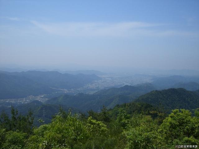納古山山頂
