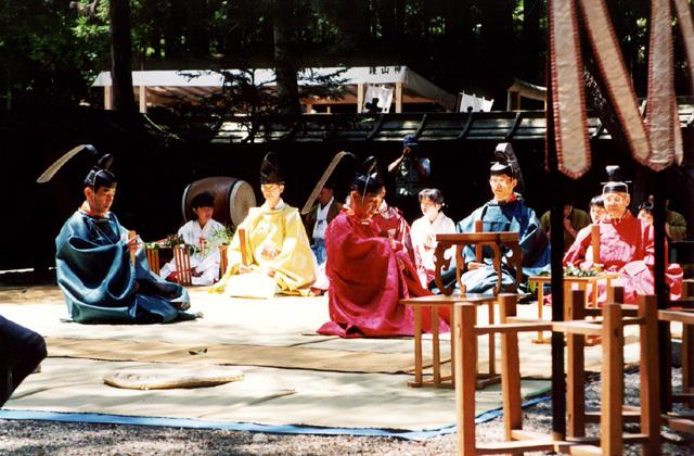 護山神社 春季例大祭