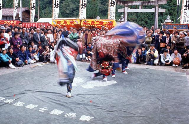 獅子舞(飯島地区)