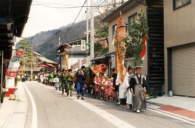 宮川町春期例祭