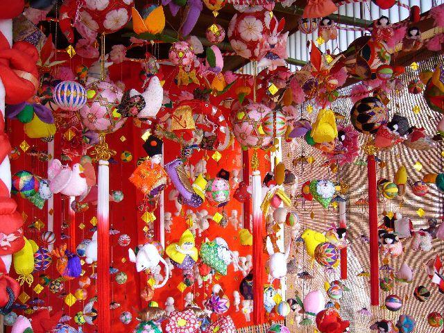 Suruga Hiyoko-gu dolls and Japan three large hanging ornament Exhibition★22100ba2212053594