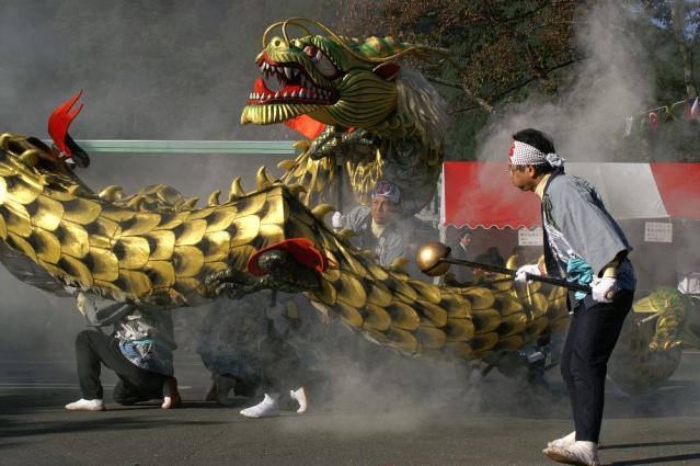 Sakuma dam dragon festival★22130ba2212055121