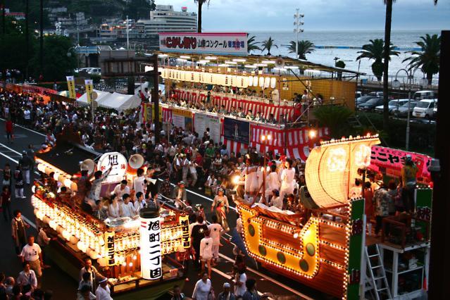 熱海こがし祭り 山車コンクール