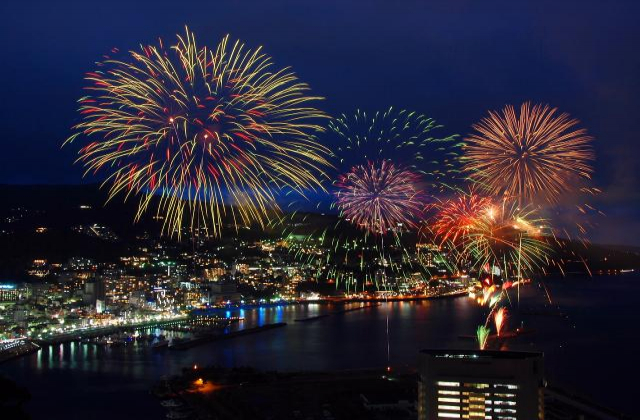 Atami sea fireworks display★22205ba2212063248