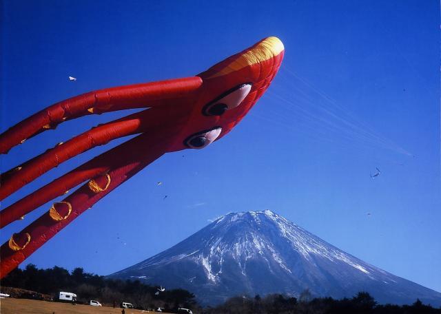 たこたこあがれin富士山