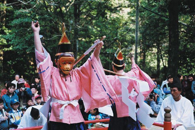 東光寺日吉神社猿舞