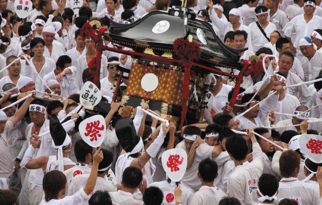 焼津神社荒祭