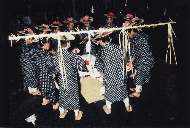滝沢の田遊び