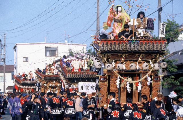 山梨祇園祭り