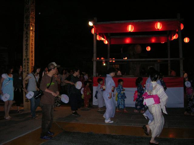 修禅寺 盆踊り大会