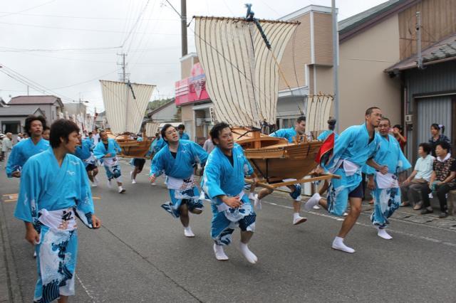飯津佐和乃神社の御船神事