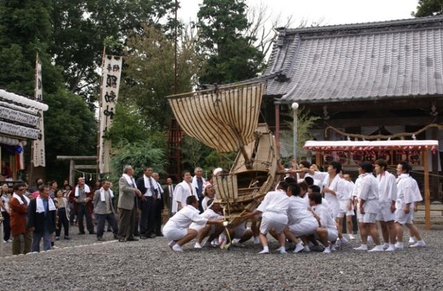 神明神社・飯室乃神社祭典