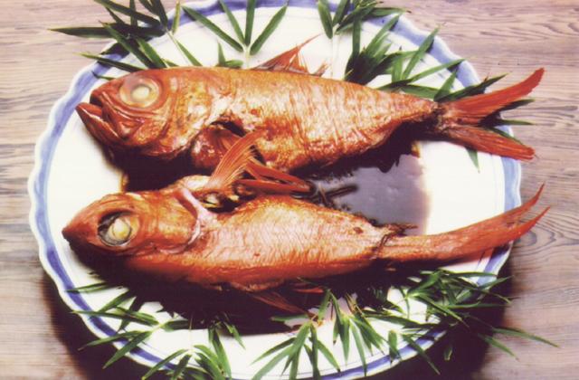 キンメ鯛料理