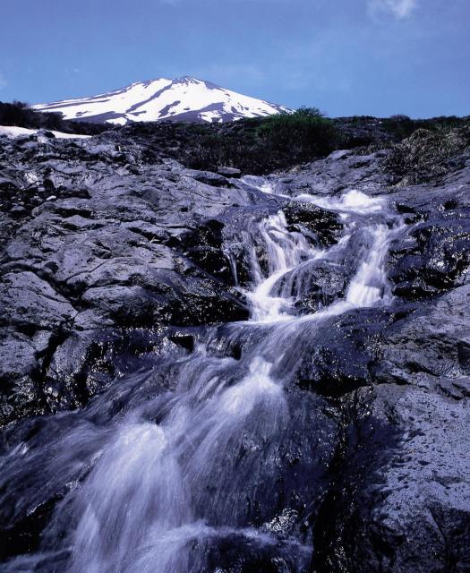まぼろしの滝(静岡県小山町)