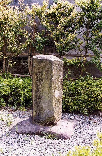 芭蕉の句碑(静岡県富士市)