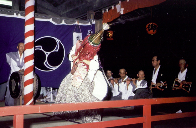 山名神社天王祭舞楽