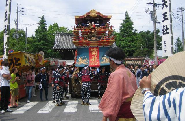 筒井町天王祭