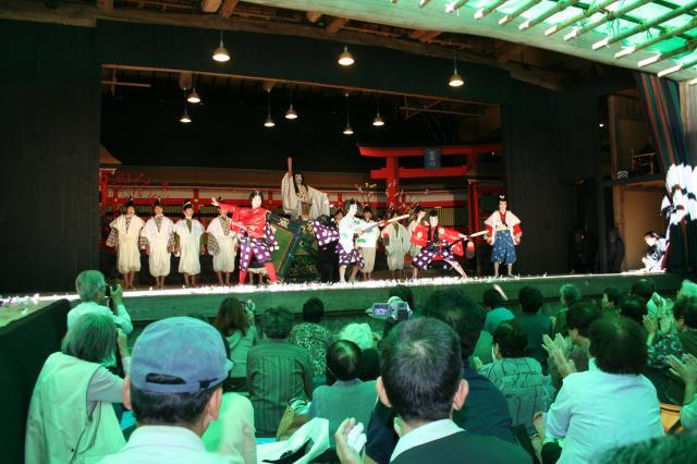 赤坂の舞台 歌舞伎公演