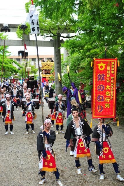 大名行列・山車祭(2020年は、新型コロナウイルス感染拡大防止のため中止)